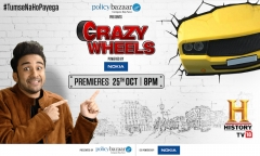 HISTORY TV18 to premiere Crazy Wheels