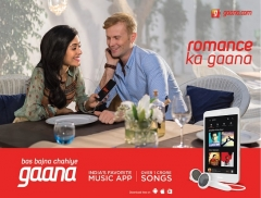 Gaana.com launches new campaign-Gaana Paas Laaye