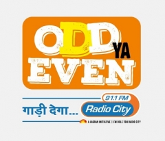 Odd ya Even, Gaadi Dega Radio City 91.1