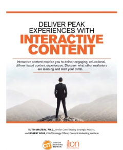 Use of Interactive Content on the Rise