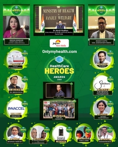 Onlymyhealth.com's 1st edition of HealthCare Heroes Awards 2020 on October 8th 2020 Honours Corona Warriors