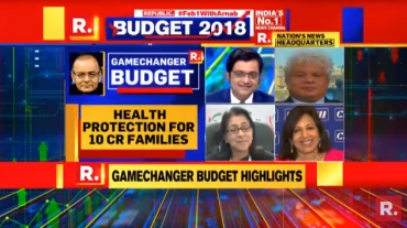 Republic TV breaks viewership records on Budget Day 2018