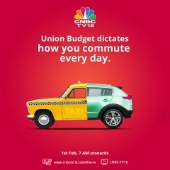 CNBC-TV18 steals a march over the rest, this Union Budget with its remarkable marketing initiatives