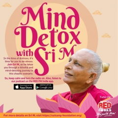RED FM launches 'Mind Detox with Sri M'
