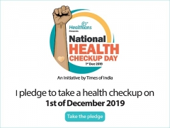 Times of India & Healthians partner to celebrate 1st December 2019 as National Health Checkup Day