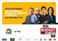 India's Biggest Business & Market Experts on CNBC-TV18, this Budget 2016