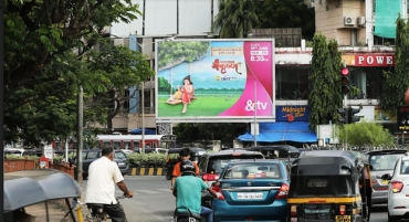 Milestone Brandcom designs innovative outdoor campaign for &TV's 'Paramavatar Shri Krishna'