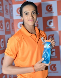 Gatorade India appoints P.V. Sindhu as brand ambassador
