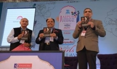 Dr. Subhash Chandra's autobiography 'The Z Factor ' launched at the ZEE Jaipur Literature Festival 2016