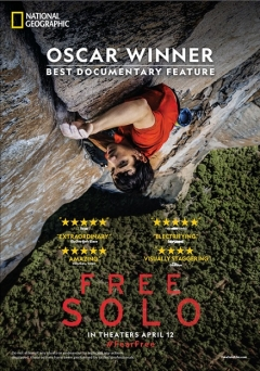 National Geographic's 2019 Oscar Winning Documentary Free Solo to Hit Indian Theatres