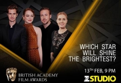 70th British Academy Film Awards 2017 to air on Zee Studio & Zee Studio HD