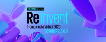Re-Invent Promax India Virtual 2020- Conference & Awards Live on 8th & 9th of October 2020