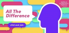 The World Economic Forum and TikTok Launch #AllTheDifference Campaign