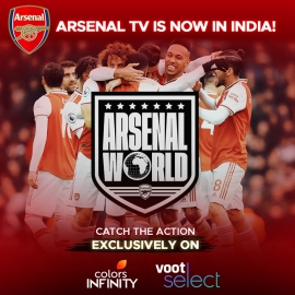 Step into the world of Arsenal FC with Arsenal TV, exclusively on VOOT SELECT