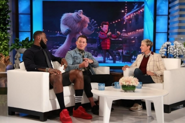 LeBron James, Channing Tatum & Naomi Osaka on The Ellen DeGeneres Show