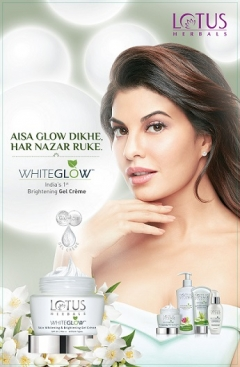 Lotus White Glow appoints Jacqueline Fernandez as the Brand Ambassador