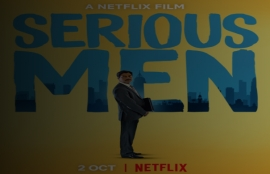 Serious Men on Netflix on 2nd October
