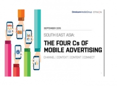 The Four Cs of Mobile Advertising