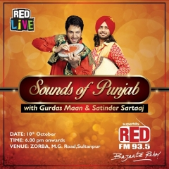 RED LiVE brings music from the heartlands of Punjab with Gurdas Maan and Satinder Sartaaj