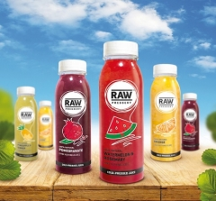 dCell develops Visual Identity for Raw Pressery juices