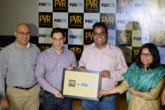 PVR and Paytm Form Strategic On-Line Movie Ticketing Relationship