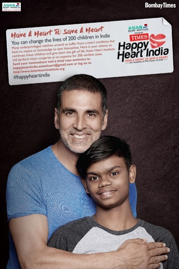 TOI and Asian Heart Institute launch #HappyHeartIndia campaign