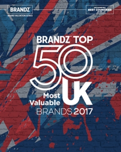 Vodafone Most Valuable UK Brand
