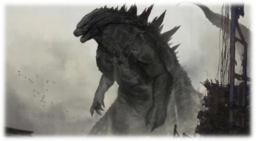&pictures presents Godzilla