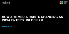 How are media habits changing as India enters unlock 2.0