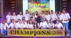 "Deepak Advertising Wears The ""Agency of the Year"" Crown for 11th Time"