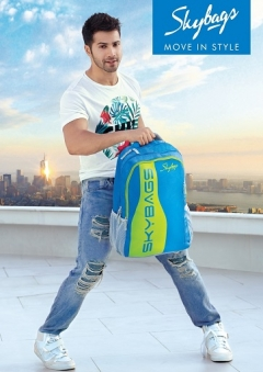 Skybags ropes in Varun Dhawan as their new brand ambassador