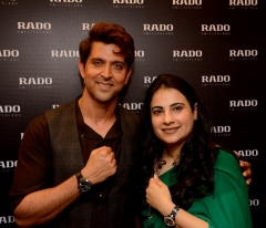 Rado introduces chocolate brown collection in India with Brand Ambassador Hrithik Roshan