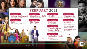 ZEE5 Global Unveils a Massive Content Slate for February '21