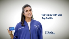 Visa launches new campaign featuring PV Sindhu