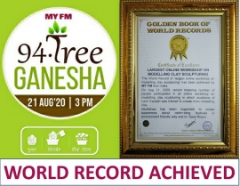 MY FM Creates World Record for Ganesh Chaturthi 2020