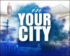 CNN-IBN launches 'In your City' for the daily news updates from Metro Cities