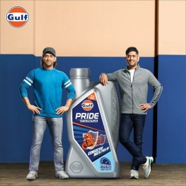 MS Dhoni takes a trip down the memory lane with his younger self in Gulf Oil India's latest TVC #GulfDhonixDhoni