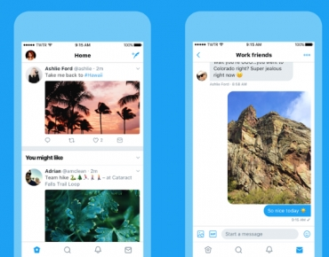 Twitter launches new look