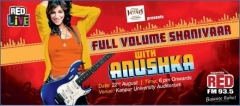 93.5 RED FM presents 'RED LiVE' with Anushka Manchanda
