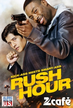 'Rush Hour' Television Reboot premieres on Zee Café and Zee Café HD.