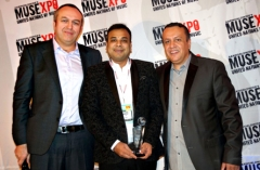 Gaana brings home the most prestigious global music award from Los Angeles, MUSEXPO' 2017