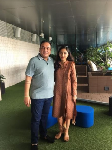 Punit Goenka, MD & CEO, ZEE Entertainment personally meets his One Millionth Twitter Follower