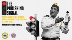 Mumbai Traffic Police says 'honk more wait more' with tech and humour