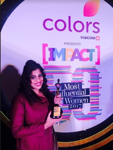 Red FM's RJ Malishka honoured with Impact's 50 Most Influential Women in Media 2017