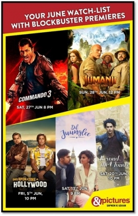 Get ready for a thundering line up of premieres, this June, only on &pictures