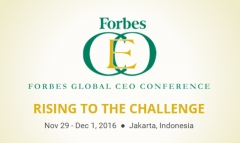 Forbes Global CEO Conference to take place in Jakarta
