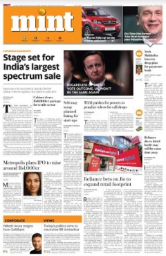 Mint Gets a New Look- A Newspaper for the Digital Era