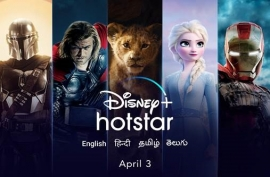 Disney+ Hotstar to launch in India on 3rd April