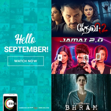 ZEE5 Global packs in a star studded September