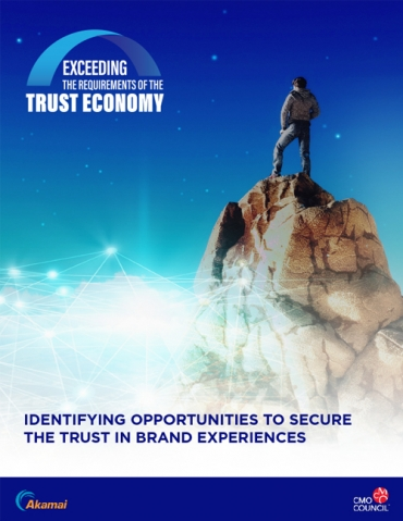 Marketers at the Epicenter of the Trust Economy